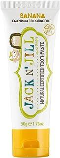 Jack N' Jill Banana Flavour Toothpaste for Children 50 g, Bananna, 50 g