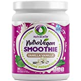 ❤️ THE FEEL FULL VEGAN PROTEIN! Nutracelle's Nutra Vegan is the BEST tasting protein powder out there & one of the healthiest too! With Prebiotic Fiber & real ingredients like pea protein powder, hemp protein, pumpkin, organic brown rice & stevia lea...