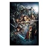 wzgsffs Der Hobbit Poster Teil 1 Movie Poster Bild Zoll