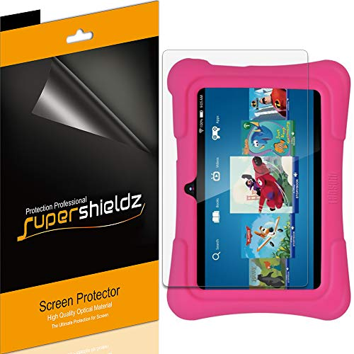 (3 Pack) Supershieldz for Dragon Touch Y88X Pro and Y88X Plus Kids Tablet (7 inch) Screen Protector, High Definition Clear Shield (PET)
