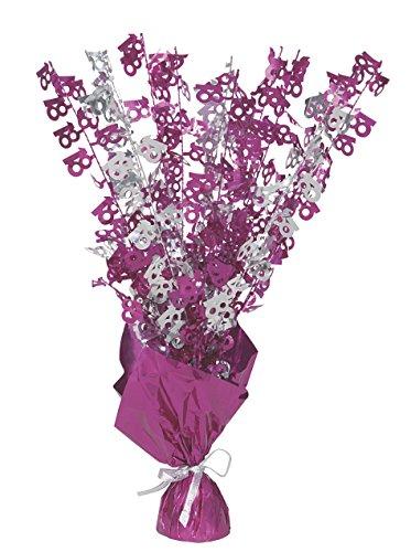 Unique  Party 56475 - Glitz Pink 18. Geburtstag Ballon-Herzstück