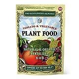 The Old Farmer's Almanac 2.25 lb. Organic Tomato & Vegetable Plant Food...