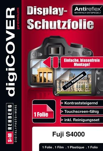 digiCOVER Premium - Protector de Pantalla antirreflejos para Fujifilm FinePix S4000