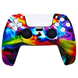 PS5 Silicone Gel Grip Controller Cover Skin Protector (ps5 Force) Compatible for Sony Playstation 5, Compatible for Playstation 5 Accessories, Wireless Controller Protector Covers, PS5 Skin