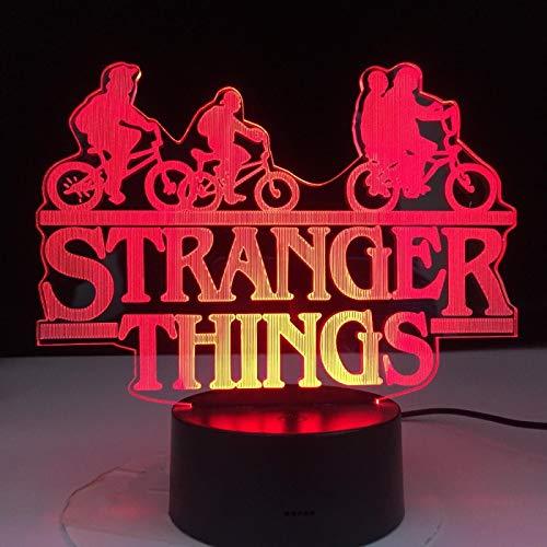 ZGBB LED-Nachtlicht mit 7 wechselnden Farben, Touch-Sensor, Schlafzimmer-Nachtlicht, Tischlampe, tolles Geschenk, 16 Farben mit Fernbedienung