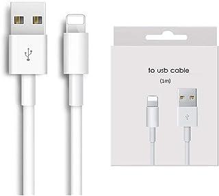 Cable iPhone USB A a Lightning [Apple MFi Certificado], 1 m, Paquete de 1, Blanco