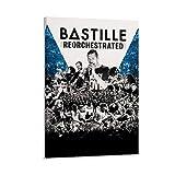 WERTF Musikposter Band Bastille Bad Blood Reorchestrated