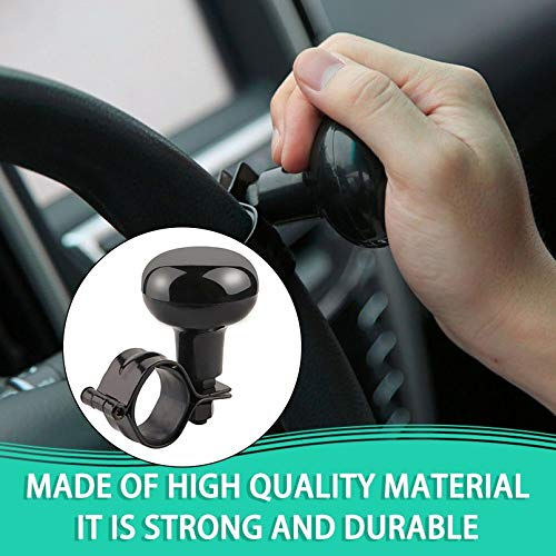Universal Black Steering Wheel Suicide Spinner Accessory Knob for Car Vehicle TiooDre Car Steering Wheel Knob
