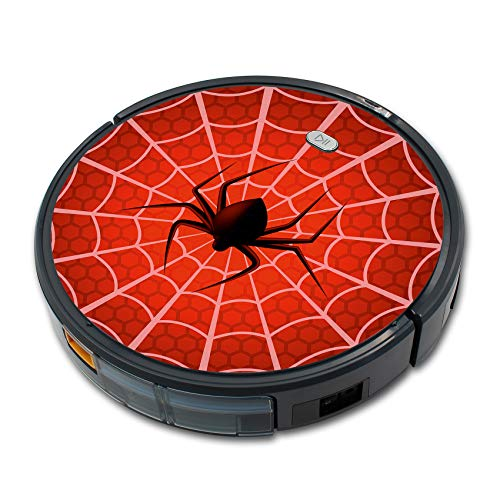 Finest Folia Folie Cover für Staubsauger Saugroboter Aufkleber Schutzfolie Skin für Staubsaugerroboter Roboter Selbstklebend Passgenau (Spider, (RX019) Für Tesvor X500)
