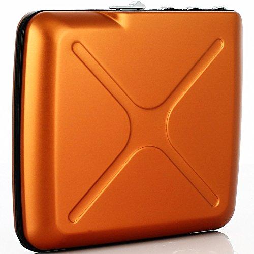 Ögon Card Code Wallet Orange