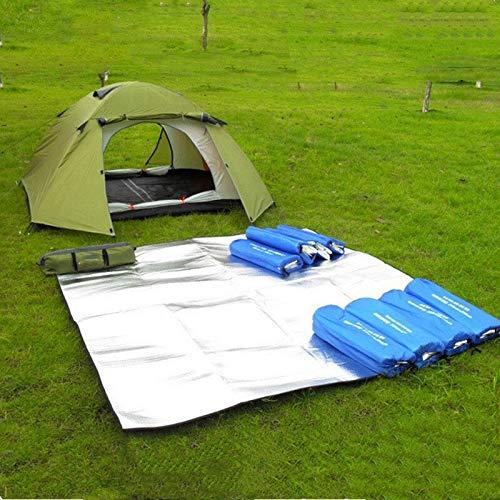 Ruyu Neue Isomatte Zelt Matratze wasserdichte Aluminiumfolie Eva zusammenklappbares Schlafen Picknick Beach Pad Outdoor-Mat Multi-Größe (Size : 200X250cm)