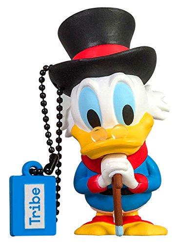 USB Stick 16 GB Uncle Scrooge - Speicherstick Memory Stick 2.0 Original Disney, Tribe FD019508