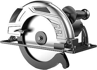 2400W Handhållen Cirkelsåg, Skärvinkel 45 ° Och Djup 80mm, Hushålls Elektrisk Cirkelsåg med Högeffektiv Kopparmotor för St...