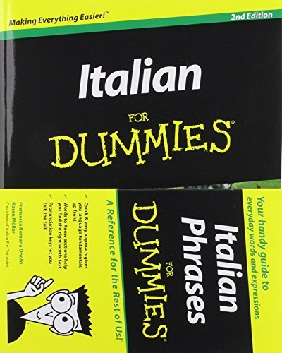 Italian Phrases For Dummies & Italian For Dummies, 2nd Edition with CD Set 1st edition by Onofri, Francesca Romana, Möller, Karen Antje (2011) Paperback
