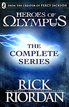 Heroes of Olympus: The Complete Series (Books 1, 2, 3, 4, 5) by [Rick Riordan]