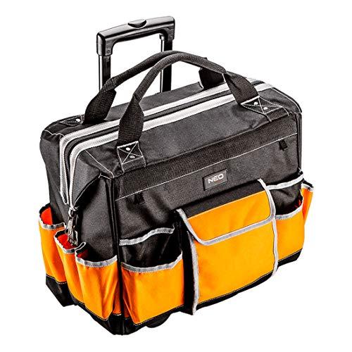 mobiler Profi Werkzeugkoffer mit Rollen Werkzeugbox Werkzeugtasche Werkzeugkiste Werkzeugaufbewahrung Arbeitstasche