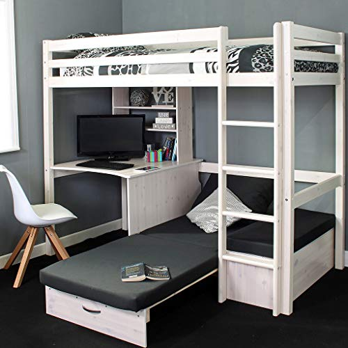 Thuka High Bed, Desk and Sofa Bed in a Choice of Colours