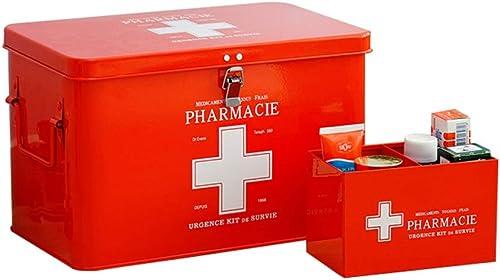 NYDZDM Cabinet De Médecine De Ménage avec La Serrure, Boîte De Stockage De Fournitures Médicales des Enfants Très Grands