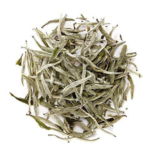 Silver Needle Té Blanca China - Té Aguja De Plata Chino - Bai Hao Yin Zhen - Baihao...