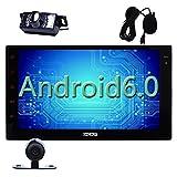 Eincar Écran tactile de 17,8cm pour autoradio Android 6.0système Marshmallow double DIN EN Dash, vidéo Full HD 1080P Quad-Core CPU, navigation GPS, Wi-fi,  Bluetooth, RDS SD/USB/3G/OBD2/4G Apple Play Mirrorlink, système de stationnement
