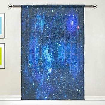 galaxy sheer fabric