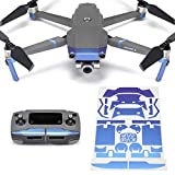 Wrapgrade Poly Skin Compatible with DJI Mavic 2 | Accent Color (Celeste Blue)