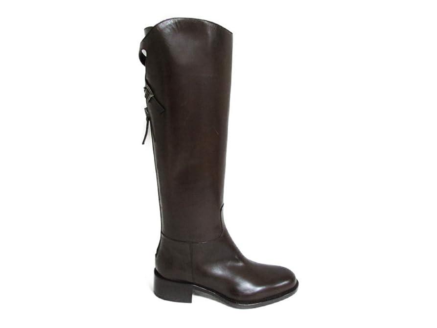 四回平凡モールス信号[サルトル] ブーツ バッククロス パルマ ダークブラウン SR3000 PARMA 35 乗馬ブーツ(アウトレット) [並行輸入品]