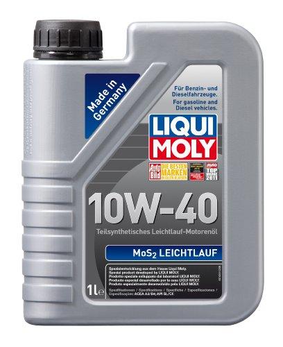 LIQUI MOLY 1091 MoS2 Leichtlauf Motoröl 10W-40, 1 L