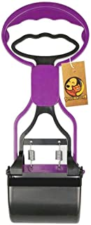 Foodie Puppies Pet Pooper Scooper 11 Inch Length Portable Handle Cleaning Pickup Clip Poop Scoop for Dog and Cat Animal Wa...