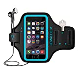 iPhone 6/7/8/SE Armband, JEMACHE Fingerprint Touch Supported Gym Running Workout/Exercise Arm Band Case