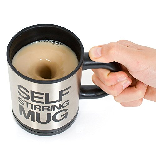 theGizmoMart Self Stirring Coffee or Tea Mug Cup