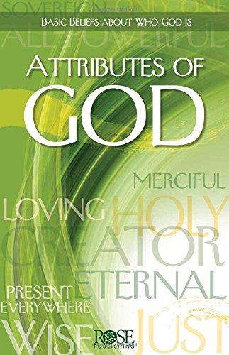Attributes of God pamphlet