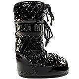 Stivali da neve da donna Moon Boot Queen originali, Nero