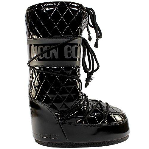 Stivali da neve da donna Moon Boot Queen originali, Nero (Black), 38 EU-40 EU