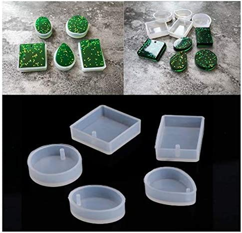 DIY Silicone Super-cheap Mould Craft Mold Necklace Jewelry Resin for Pendant gift