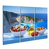 Bild Bilder auf Leinwand Berühmter Navagio Strand mit