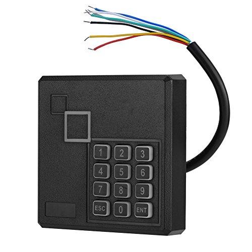 VbestLIFE RFID deuropener codeslot, waterdichte RFID Reader lijn foutbeveiliging 1-6 in Sense Access Control kaartlezer met toetsenbord