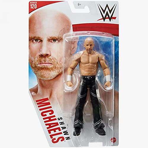 WWE - Series 120 - Shawn Michaels - Action Figure, Bring the Action of the WWE Home - Approx. 6'