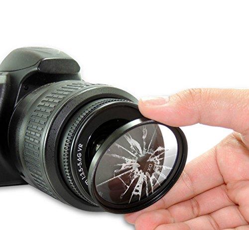 Premium Pro 58mm HD MC UV Filter for: Canon EF-S 55-250mm f/4-5.6 is STM 58mm Ultraviolet Filter, 58mm UV Filter, 58 mm UV Filter