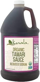 Kevala Organic Tamari Sauce 1/2 Gal (Reduced Sodium) (Gluten Free)