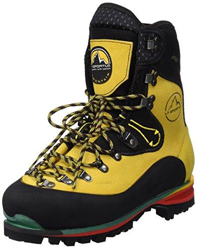 LA SPORTIVA népal Evo GTX – Chaussures d'escalade Mixte, Couleur Jaune, Taille 45