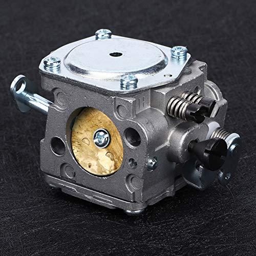 Vergaser, exquisiter Originalgeräte Hersteller perfekter Ersatzvergaser mit Metall 9.00x6.00x5.00cm für Husqvarna61 268 266 272 XP