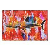 Tiburón impresión 3D Puzzle 200/300/500/1000 Piezas Gran Puzzle Set Desafiante Juego Regalo Juguetes para Adultos Niños Blanco 300pcs