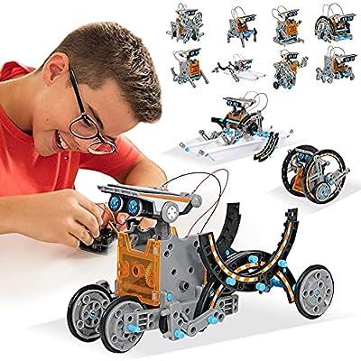Amazon - 70% Off on Toys Solar Robot Kit 12-in-1 Educational Science Kits Toys