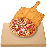 Best Pizza Stones - AUGOSTA Pizza Stone for Oven and Grill, Free Review