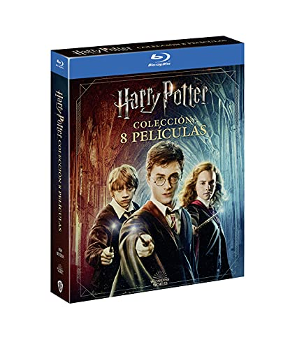 Pack Harry Potter Colección Completa + Harry Potter Magical Movie Mode [Blu-ray]