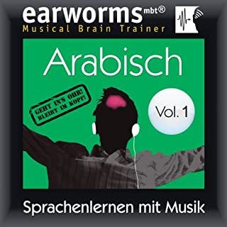 Arabisch (vol.1): Lernen mit Musik                   Autor:                                                                                                                                 earworms learning                               Sprecher:                                                                                                                                 Sebastian Kleff,                                                                                        Riem Elfar                      Spieldauer: 52 Min.     40 Bewertungen     Gesamt 4,2