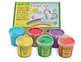 No Name (Foreign Brand) Fingerfarben nawaro, 6er Set Einhorn 79605