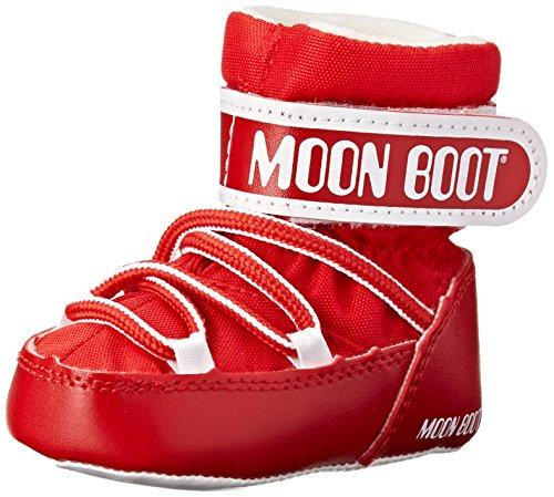 Moon Boot Bottes d'hiver tendance pour berceau, rouge (Rouge), 0-3 mois