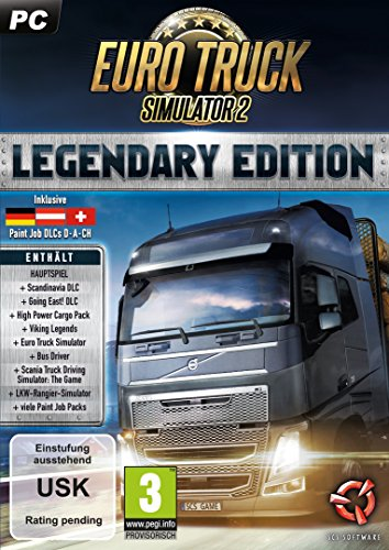 Astragon Euro Truck Simulator 2: Legendary Edition PC Alemán vídeo - Juego (PC, Simulación)